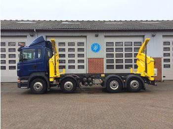 Container-transport/ vekselflak lastebil Scania R 420 LB8X2*6HNB