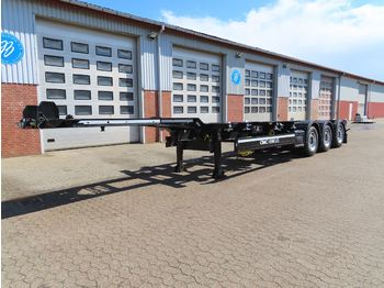 Container-transport/ vekselflak semitrailer CIMC Container
