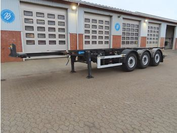 """Container-transport/ vekselflak semitrailer LAG 20-30"""" containerchassis"""