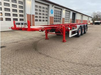 Container-transport/ vekselflak semitrailer LAG Container