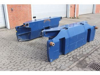 Semitrailer Goldhofer Adapter
