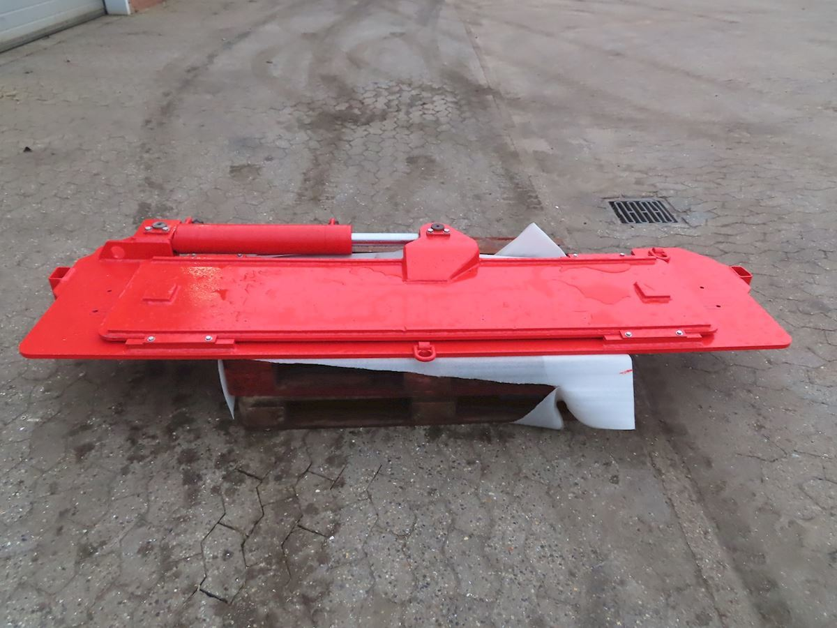 semitrailer Goldhofer Plade m/hydr. justering