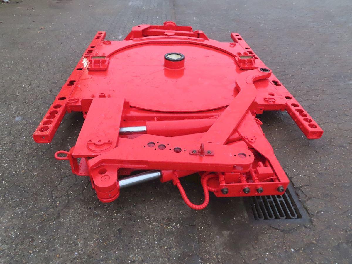 semitrailer Goldhofer Selvsporings-udstyr