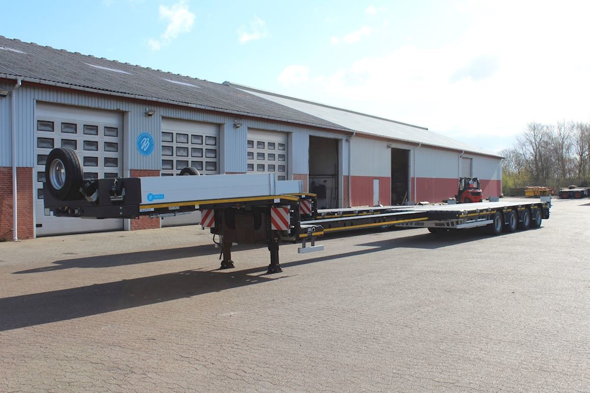 lavloader semitrailer Goldhofer STN-L 4 A - Stepstar