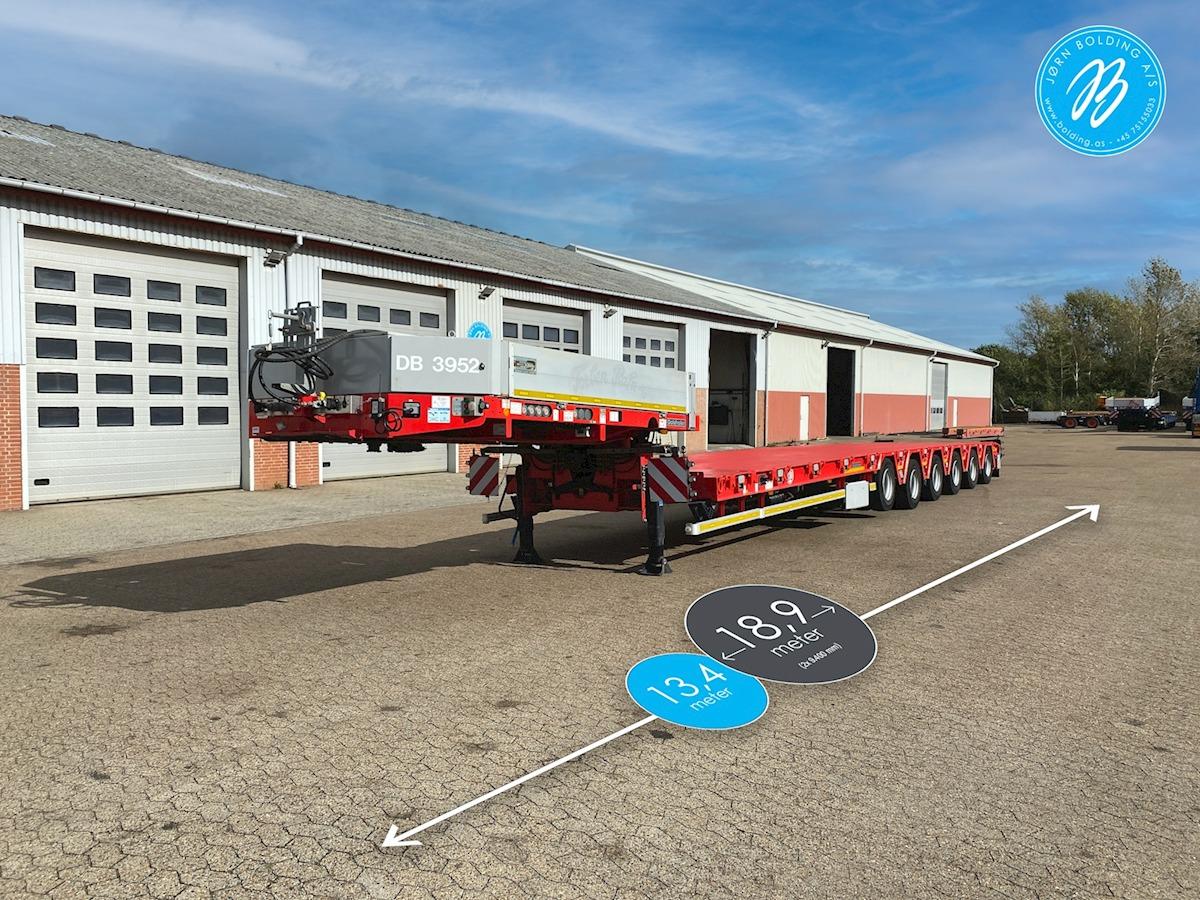 lavloader semitrailer Goldhofer STZ-H 6 AA