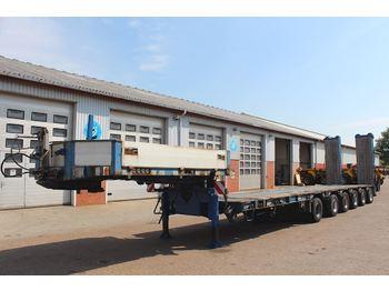 Lavloader semitrailer Goldhofer STZ-L6-59/80AA