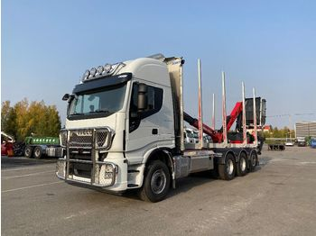 Tømmer IVECO X-Way AS 340X57 8x4